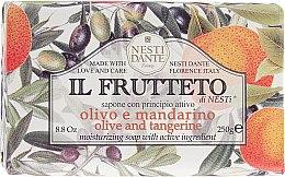 """Voňavky, Parfémy, kozmetika Mydlo """"Olivový olej a mandarínka"""" - Nesti Dante Il Frutteto Soap"""