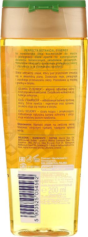 """Sprchový olej """"Olivový olej a bavlna"""" - Perfecta Botanical Synergy — Obrázky N2"""