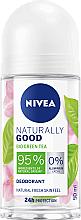 Voňavky, Parfémy, kozmetika Dezodorant roll-on - Nivea Naturally Good Deodorant Roll-on Bio Green Tea