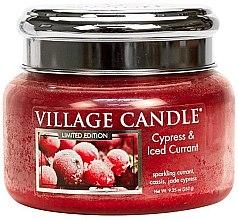 Vonná sviečka v nádobe - Village Candle Cypress & Iced Currant Glass Jar — Obrázky N2