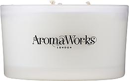 """Voňavky, Parfémy, kozmetika Vonná sviečka """"Pokoj"""" s 3 knôtmi - AromaWorks Serenity Candle 3-wick"""
