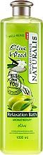 Voňavky, Parfémy, kozmetika Olejová pena do kúpeľa - Naturalis Olive Wood Relaxation Bath