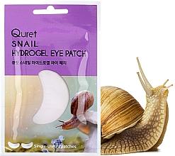 Voňavky, Parfémy, kozmetika Náplasti pod oči - Quret Snail Hydrogel Eye Patch