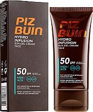 Voňavky, Parfémy, kozmetika Opaľovací krém-gél na tvár - Piz Buin Hydro Infusion SPF 50