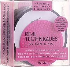 Voňavky, Parfémy, kozmetika Balzam na čistenie štetcov s podložkou - Real Techniques Brush Cleansing Balm