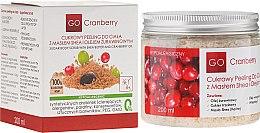 Voňavky, Parfémy, kozmetika Cukorový telový peeling s bambuckým maslom a brusnicovým maslom - GoCranberry