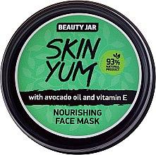 Voňavky, Parfémy, kozmetika Výživná maska na tvár - Beauty Jar Skin Yum Nourishing Face Mask