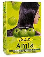 """Voňavky, Parfémy, kozmetika Prášok na vlasy """"Amla"""" - Hesh Amla Powder"""