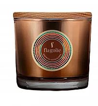 """Voňavky, Parfémy, kozmetika Vonná sviečka v pohári """"Santalové drevo"""" - Flagolie Fragranced Candle Sandalwood"""