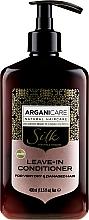 Voňavky, Parfémy, kozmetika Nezmazateľný kondicionér pre suché a poškodené vlasy - Arganicare Silk Leave-In Conditioner For Very Dry & Damaged Hair