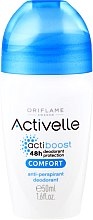 Voňavky, Parfémy, kozmetika Guľôčkový deodorant-antiperspirant s komplexom starostlivosti - Oriflame Activelle Comfort Anti-Perspirant Deodorant