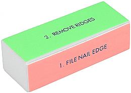 Voňavky, Parfémy, kozmetika Štvorstranná leštička na nechty, široká - Tools For Beauty 4-way Nail Buffer Block