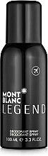 Voňavky, Parfémy, kozmetika Montblanc Legend - Deodorant