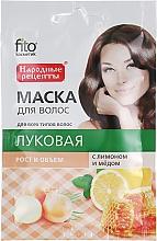 """Voňavky, Parfémy, kozmetika Prírodná maska na vlasy """"Cibuľová"""" s citrónom a medom - Fito Kosmetik"""