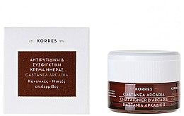 Voňavky, Parfémy, kozmetika Spevňujúci krém proti vráskam s kaštanom - Korres Castanea Arcadia Antiwrinkle&Firming Day Cream For Dry and Very Dry Skin