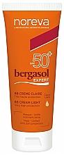 Voňavky, Parfémy, kozmetika BB krém SPF50 + - Noreva Laboratoires Bergasol Expert BB Cream Light SPF50+