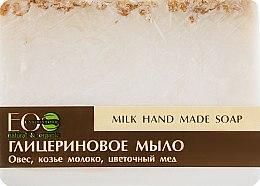 Voňavky, Parfémy, kozmetika Glycerínové mydlo mliečné - ECO Laboratorie Milk Hand Made Soap