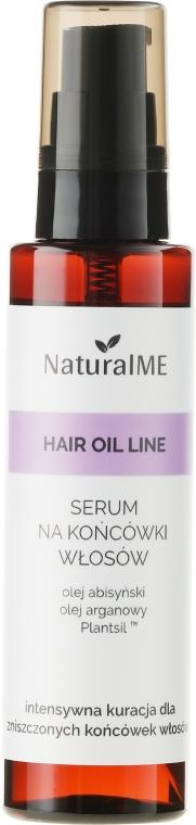 Sérum na končeky vlasy - NaturalME Hair Oil Line