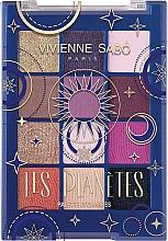 Voňavky, Parfémy, kozmetika Paleta očných tieňov - Vivienne Sabo Les Planetes Eyeshadow Palette