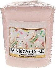"""Voňavky, Parfémy, kozmetika Vonná sviečka """"Sušienky"""" - Yankee Candle Rainbow Cookie Votive Candle"""