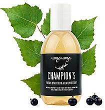 Voňavky, Parfémy, kozmetika Pánsky šampón-gél s výťažkami čiernych ríbezlí a brezy - Uoga Uoga Shampoo-Shower Gel