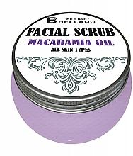 Voňavky, Parfémy, kozmetika Scrub na tvár s makadamiovým olejom - Fergio Bellaro Facial Scrub