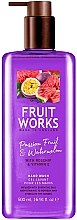 "Voňavky, Parfémy, kozmetika Mydlo na ruky ""Marakuja a melón"" - Grace Cole Fruit Works Hand Wash Passion Fruit & Watermelon"