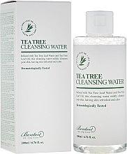 Voňavky, Parfémy, kozmetika Čistiaca voda s čajovníkom - Benton Tea Tree Cleansing Water