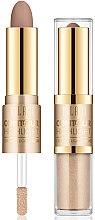 Voňavky, Parfémy, kozmetika Rozjasňovač-kontúr na tvár - Milani Contour & Highlight Cream & Liquid Duo