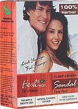 Voňavky, Parfémy, kozmetika Prášková maska na tvár - Hesh Sandal Face Pack