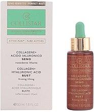 Voňavky, Parfémy, kozmetika Koncentrát-lifting na prsia - Collistar Attivi Puri Collagene + Acido Ialuronico