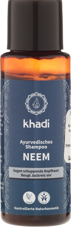 "Ajurvédsky šampón proti lupinám ""Nim"" - Khadi Neem Shampoo"