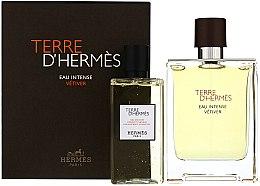 Voňavky, Parfémy, kozmetika Terre D'Hermes Eau Intense Vetiver - Sada (edp/100ml + sh/gel/100ml)