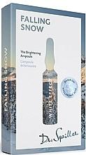 Voňavky, Parfémy, kozmetika Ampulkový koncentrát na vyrovnanie tónu pleti - Dr. Spiller White Effect Falling Snow The Brightening Ampoule