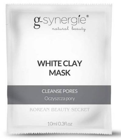 """Maska na tvár """"Biela hlina"""" - G-synergie White Clay Mask — Obrázky N1"""