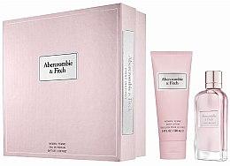 Voňavky, Parfémy, kozmetika Abercrombie & Fitch First Instinct - Sada (edp/50ML + b/l100ML)