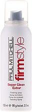 Voňavky, Parfémy, kozmetika Lak sa silnú fixáciu - Paul Mitchell Firm Style Super Clean Extra