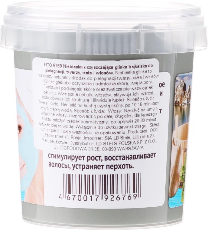 Modrá bajkalská hlina na tvár, telo a vlasy, na kúpanie - Fito Kozmetic  — Obrázky N2