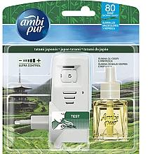 """Voňavky, Parfémy, kozmetika Sada na aromatizáciu """"Japonské tatami"""" - Ambi Pur (diffuser/1szt+refill/21.5ml)"""