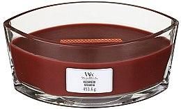 Voňavky, Parfémy, kozmetika Vonná sviečka v pohári - Woodwick Hearthwick Flame Ellipse Candle Redwood