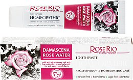 Voňavky, Parfémy, kozmetika Homeopatická zubná pasta - Rose Rio Toothpast