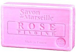 """Voňavky, Parfémy, kozmetika Prírodné mydlo """"Ruža a pivónia"""" - Le Chatelard 1802 Soap Rose & Peony"""