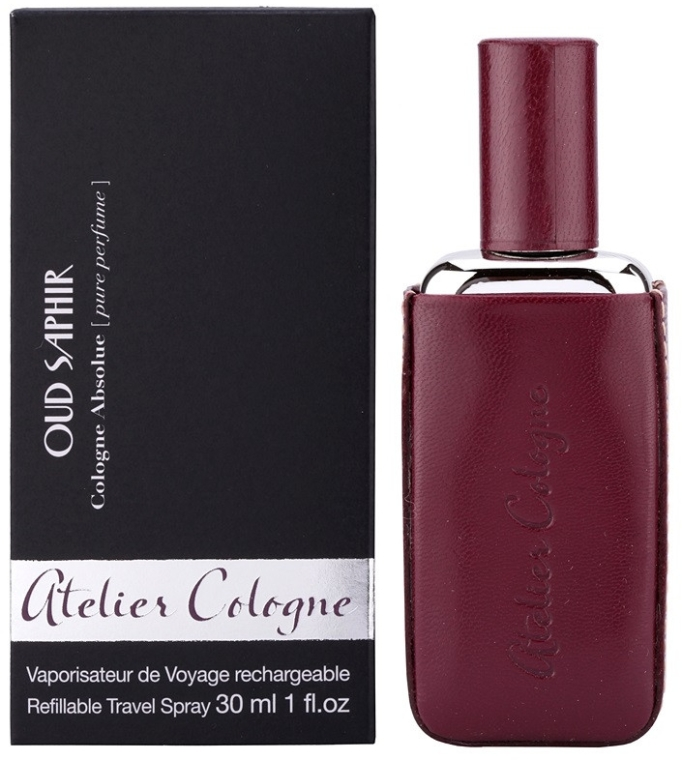 Atelier Cologne Oud Saphir Refillable Travel Spray - Kolínska voda — Obrázky N2