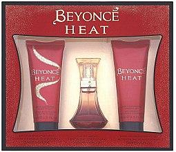Voňavky, Parfémy, kozmetika Beyonce Heat - Sada (edp/30ml + sh/gel/75ml + b/lot/75ml)