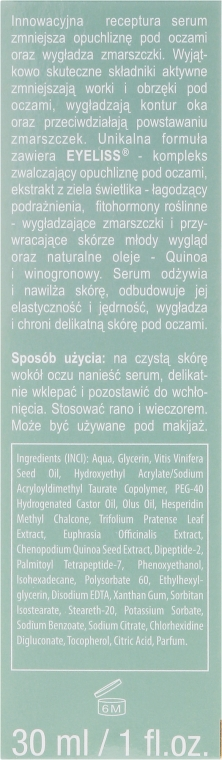 Očné sérum - Ava Laboratorium Stop Time Eye Contour Serum — Obrázky N3