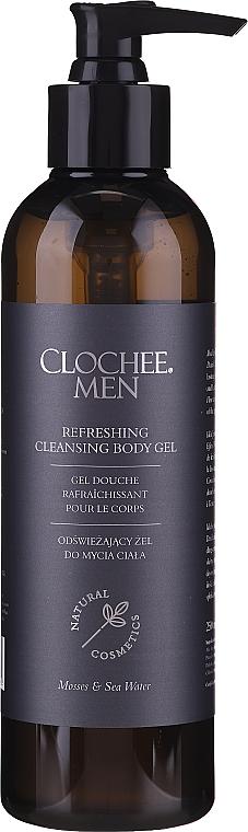 Osviežujúci sprchový gél - Clochee Men Refreshing Cleansing Body Gel — Obrázky N1