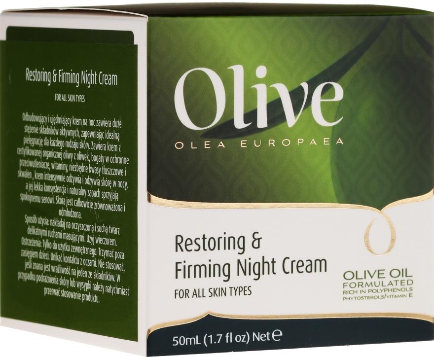 Regeneračný a spevňujúci nočný krém - Frulatte Olive Restoring Firming Night Cream