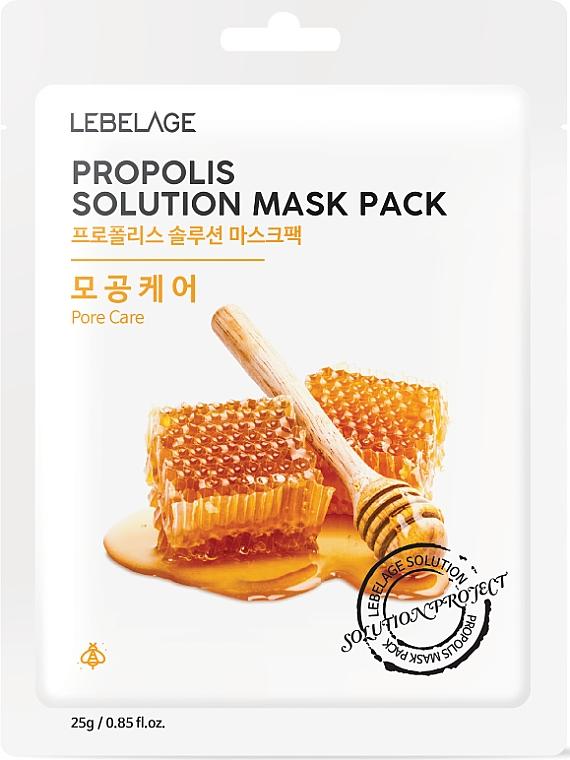 Pleťová maska s propolisom - Lebelage Propolis Solution Mask
