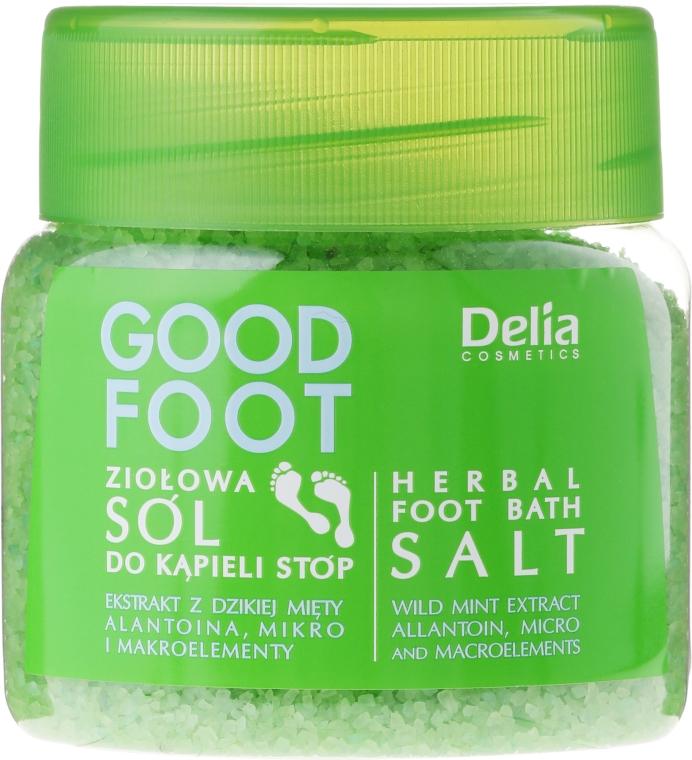 Soľ na nohy - Delia Cosmetics Good Foot Herbal Foot Bath Salt