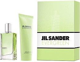 Voňavky, Parfémy, kozmetika Jil Sander Evergreen - Sada (edt/30ml + body/lot/75ml)